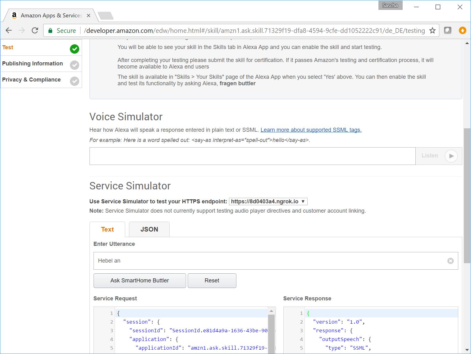 Amazon Alexa Im Lokalen Smart Home Programmieren Sascha Wolter - Minecraft server erstellen ohne portfreigabe