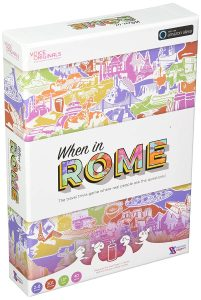 When in Rome, the world's first voice-augmented board game.